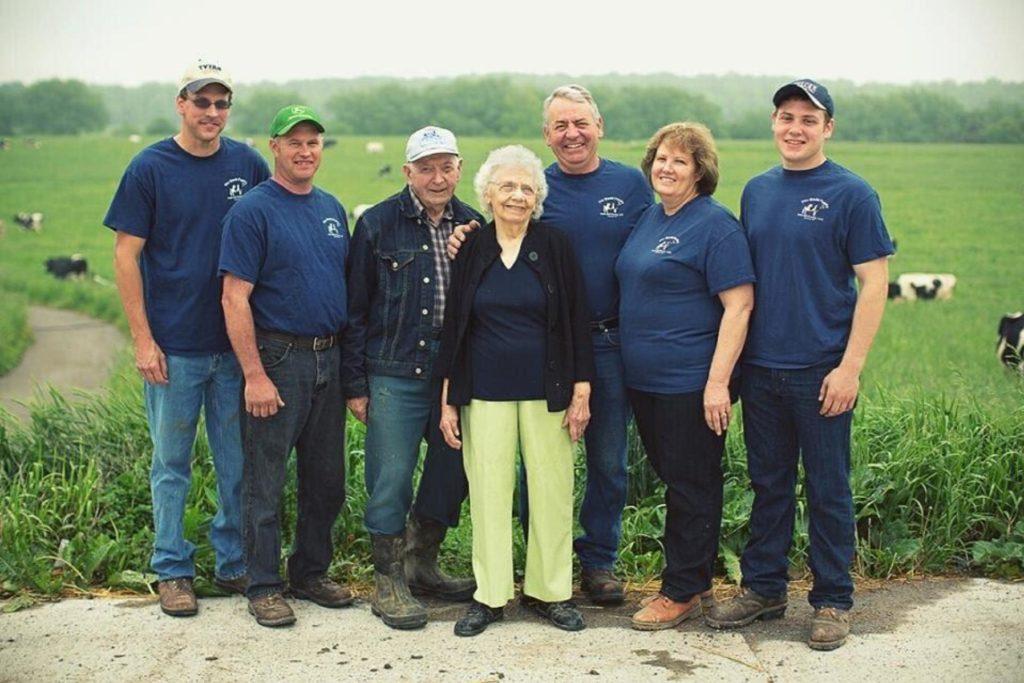 The Gould Family Farm, in Pavillion, NY